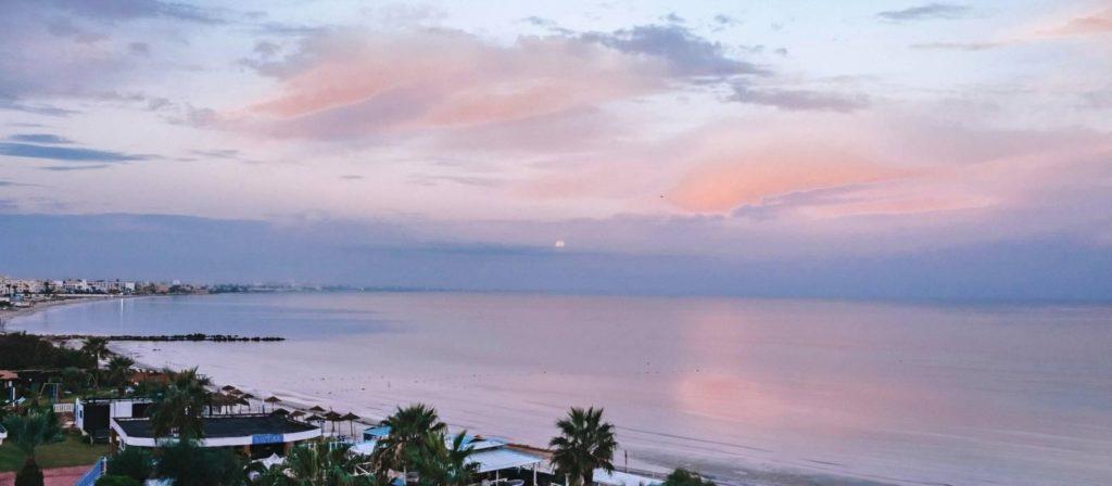 exterior del hotel vincci rosa beach en túnez
