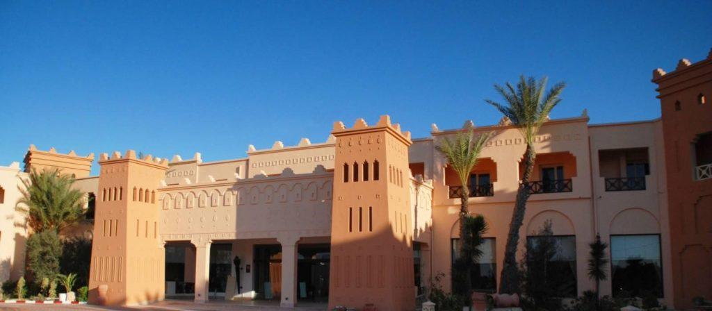 fachada del hotel vincci safira palms en túnez