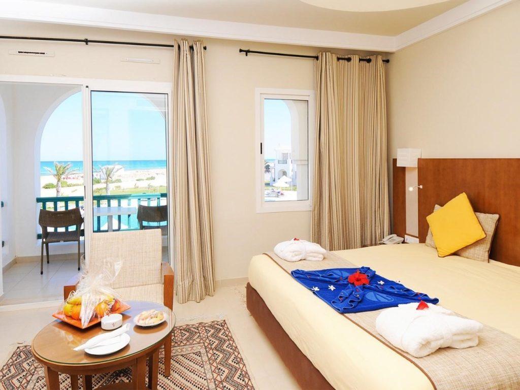 habitación del hotel vincci hélios beach en túnez