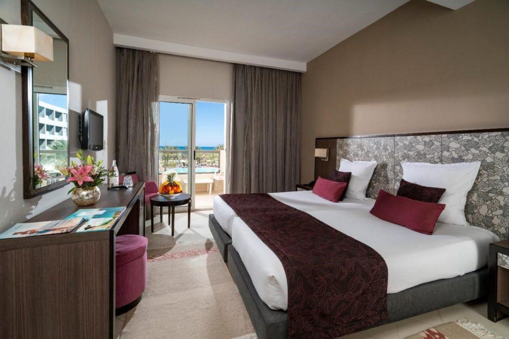 habitación del hotel vincci rosa beach en túnez