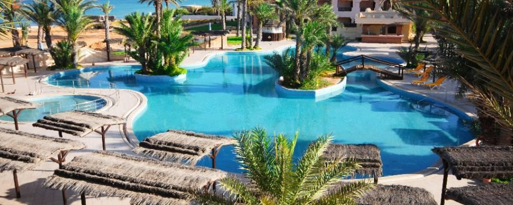 piscina del hotel vincci safira palms en túnez