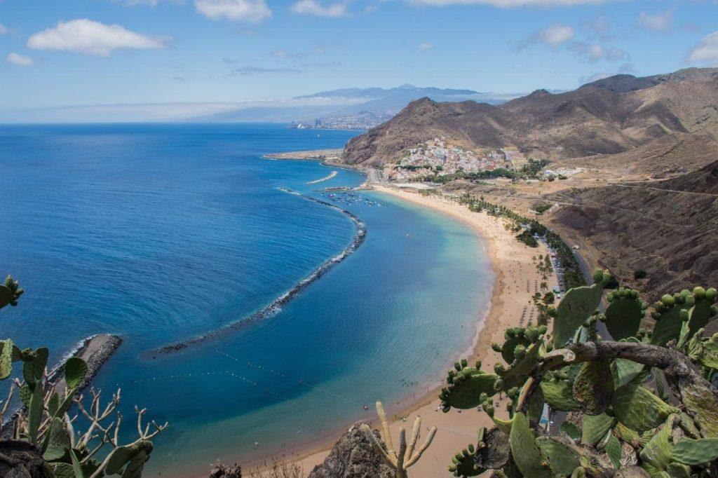 playa de Santa Cruz de Tenerife