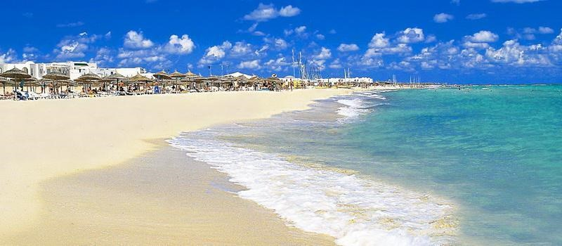 playas de hammamet en túnez