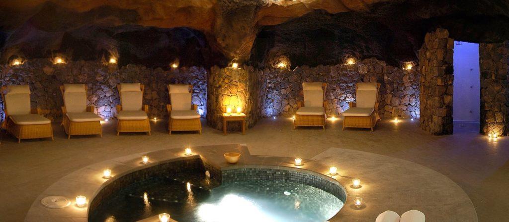 áreas de spa nammu del hotel Vincci selección la plantación del sur en Tenerife