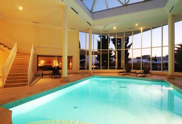 nammu áreas de spa del hotel vincci flora park en túnez