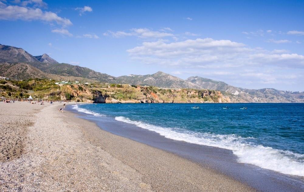 Playa del Burriana en Málaga