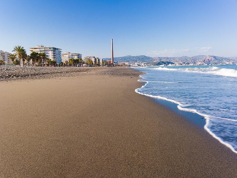 Playa de la Misericordia de Málaga