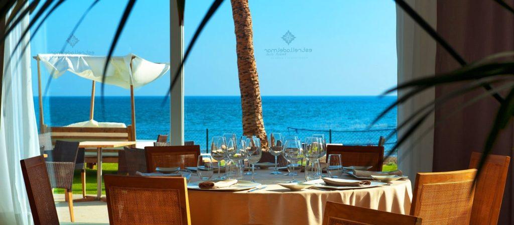 Vistas desde el restaurante de día del Club de Playa Estrella del Mar