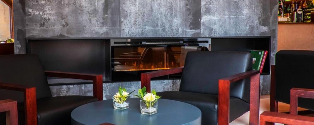 Bar Lounge del Hotel Vincci Mercat 4 estrellas de Valencia