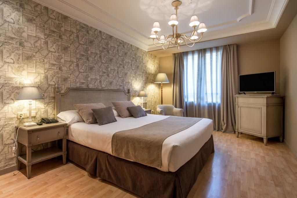 habitación del hotel Vincci Lys 4 estrellas de Valencia