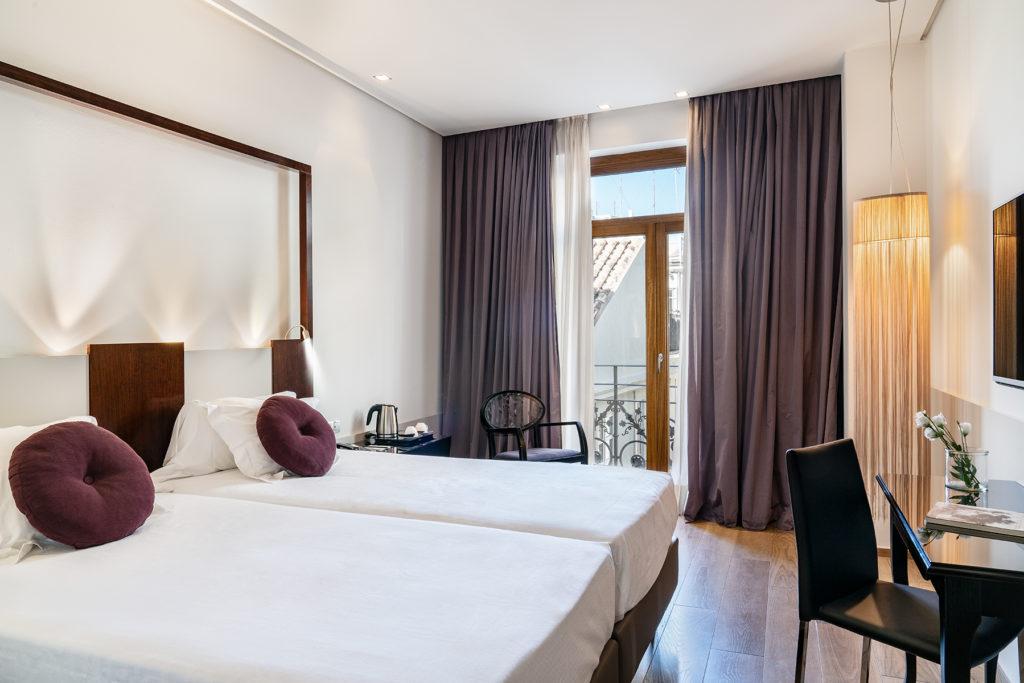 Habitación del Hotel Vincci Palace 4 estrellas de Valencia