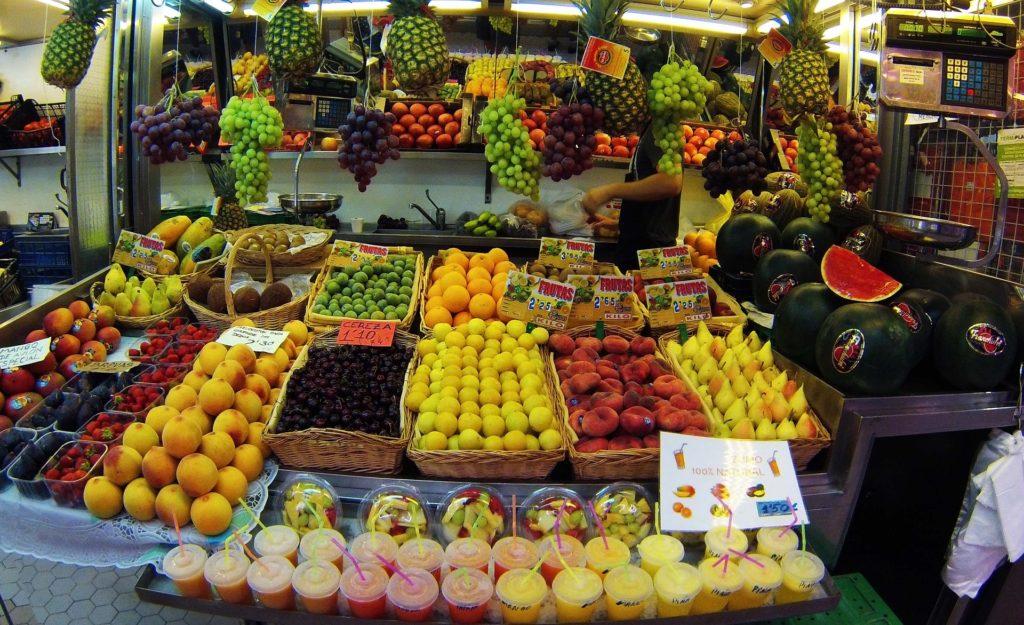 Mercado Gastronómico central de Valencia