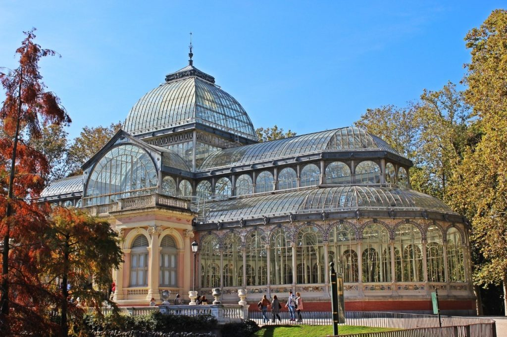 palacio cristal madrid