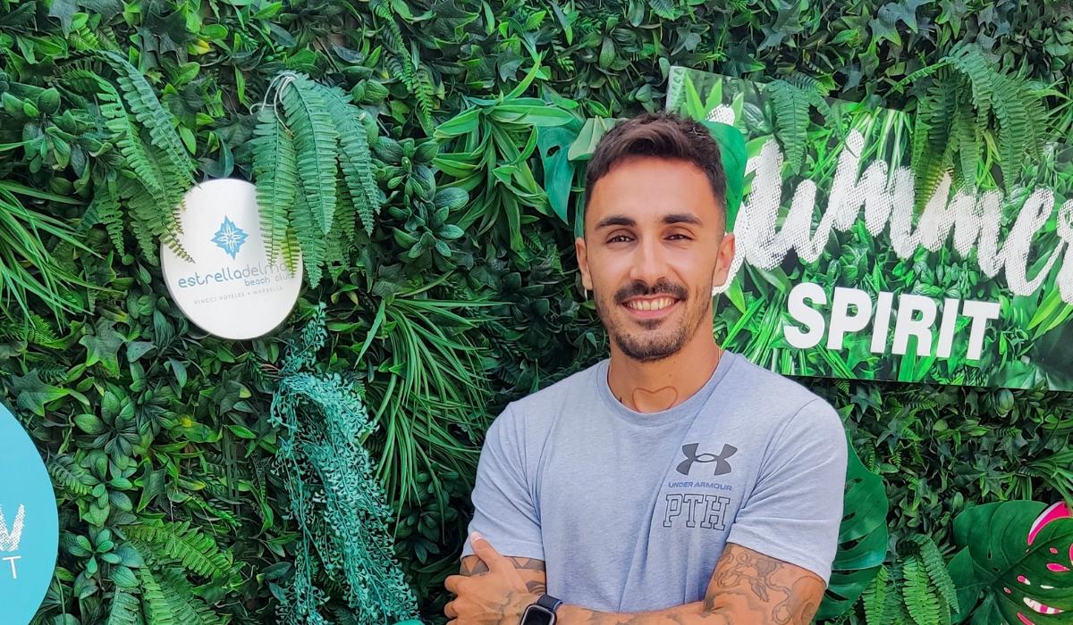 Álvaro Albendín, entrenador en Beach Club Estrella del Mar: «El entrenamiento personal puede ser un buen método para empezar en Septiembre»