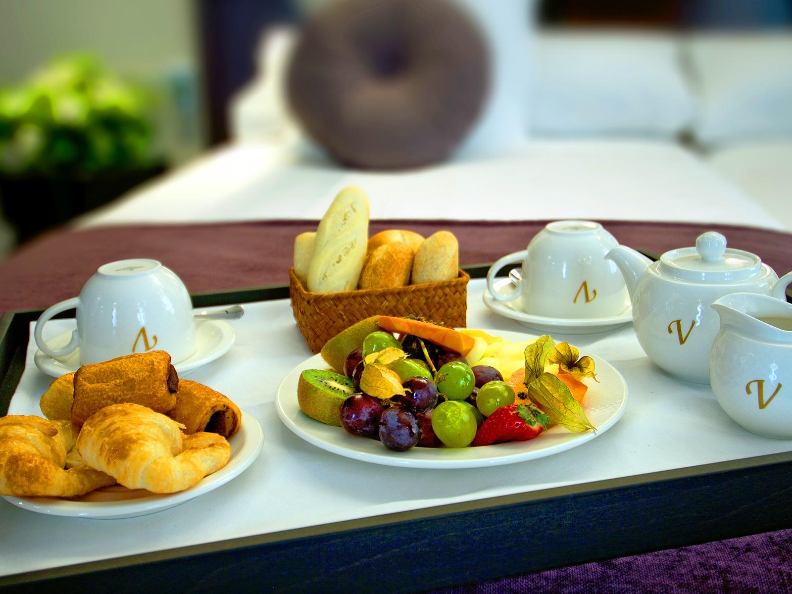 Desayuno Habitación - Vincci Palace 4*