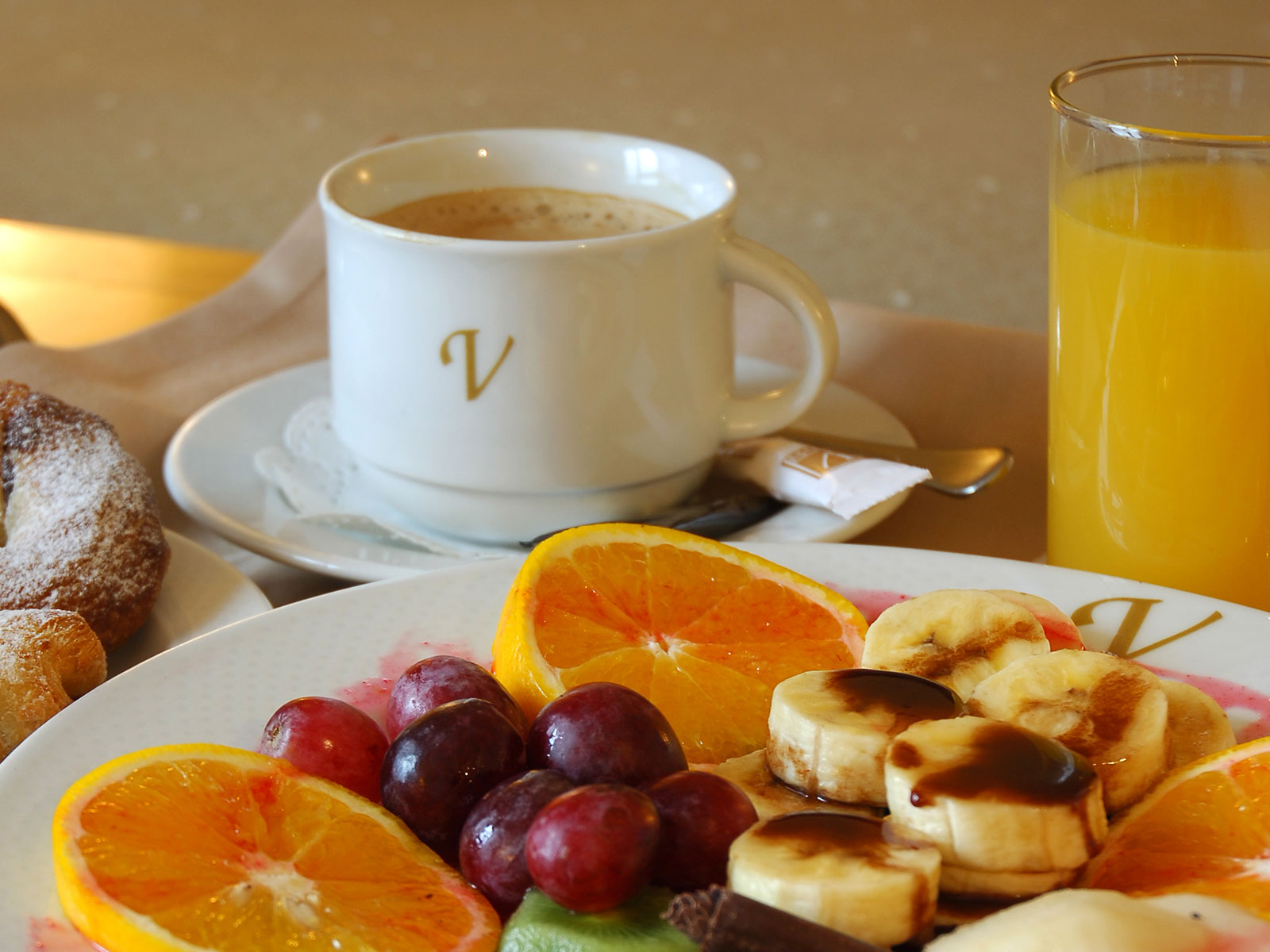 Services Hotel Santander Puertochico - Vincci Hotels - Buffet