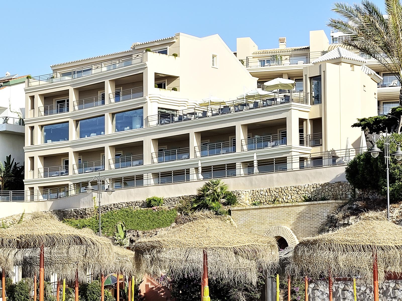 Fachada-Vincci Aleysa Boutique&Spa 5* - Benalmádena - Málaga