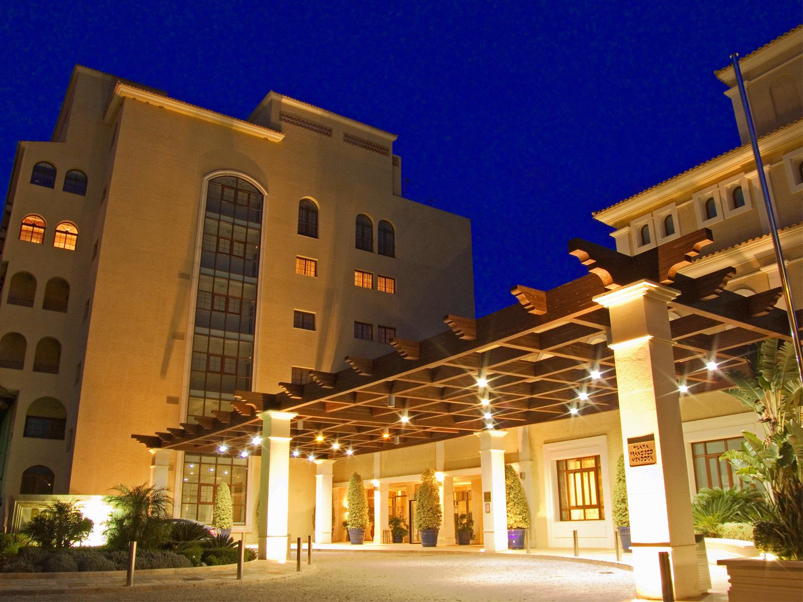 Facade-Wellness Hotel Almería - Vincci Hoteles
