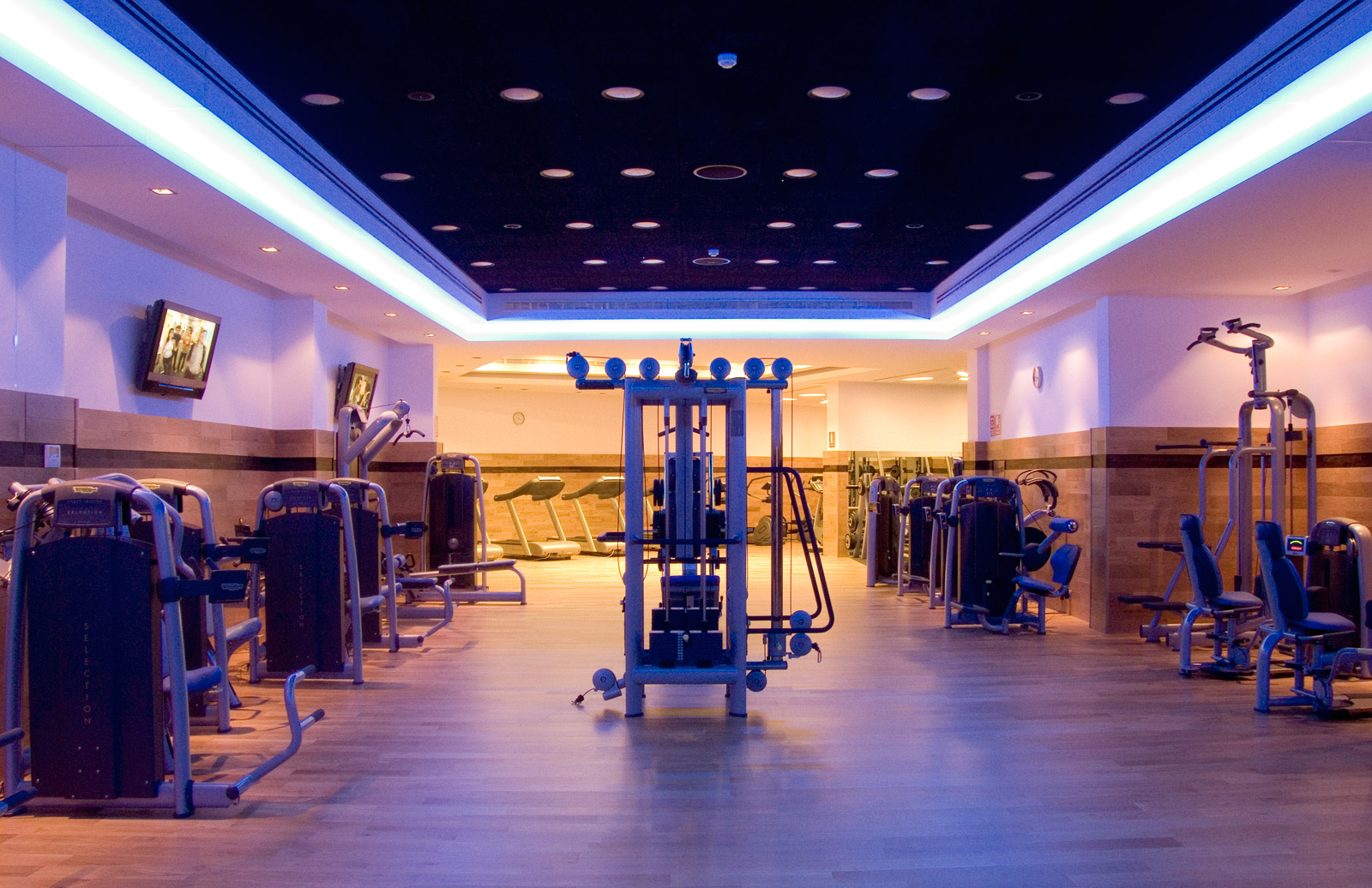 Services Hotel Vincci Almería Wellness - Fitness Area