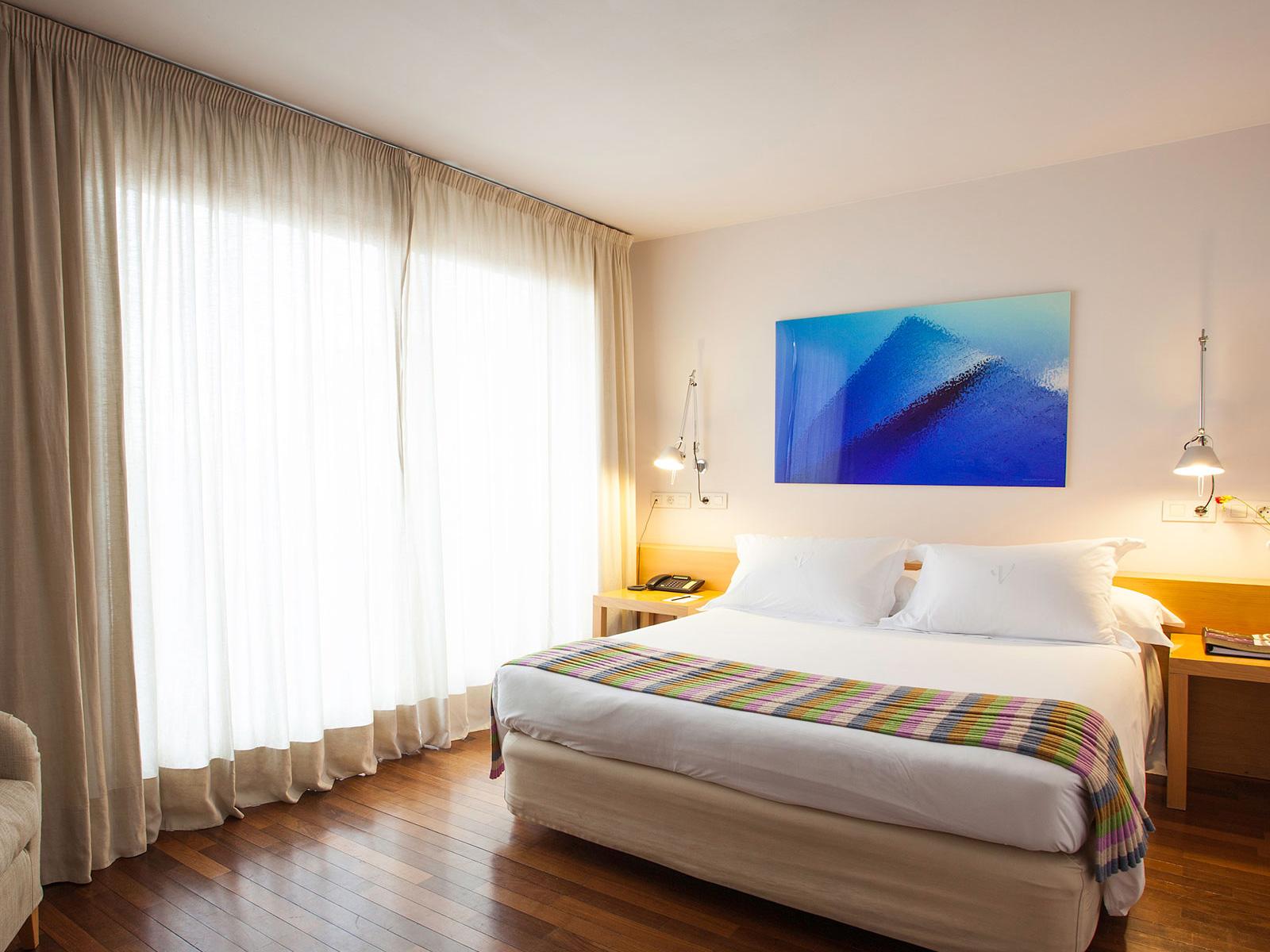 Habitaciones Hotel Madrid Soma - Vincci Hoteles - Vincci Doble Superior
