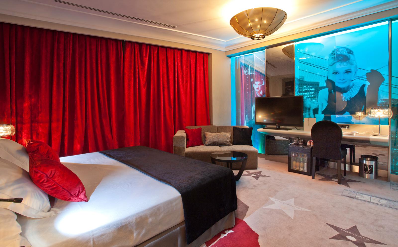 Rooms Hotel Vinnci Madrid Capitol - Room Row 6