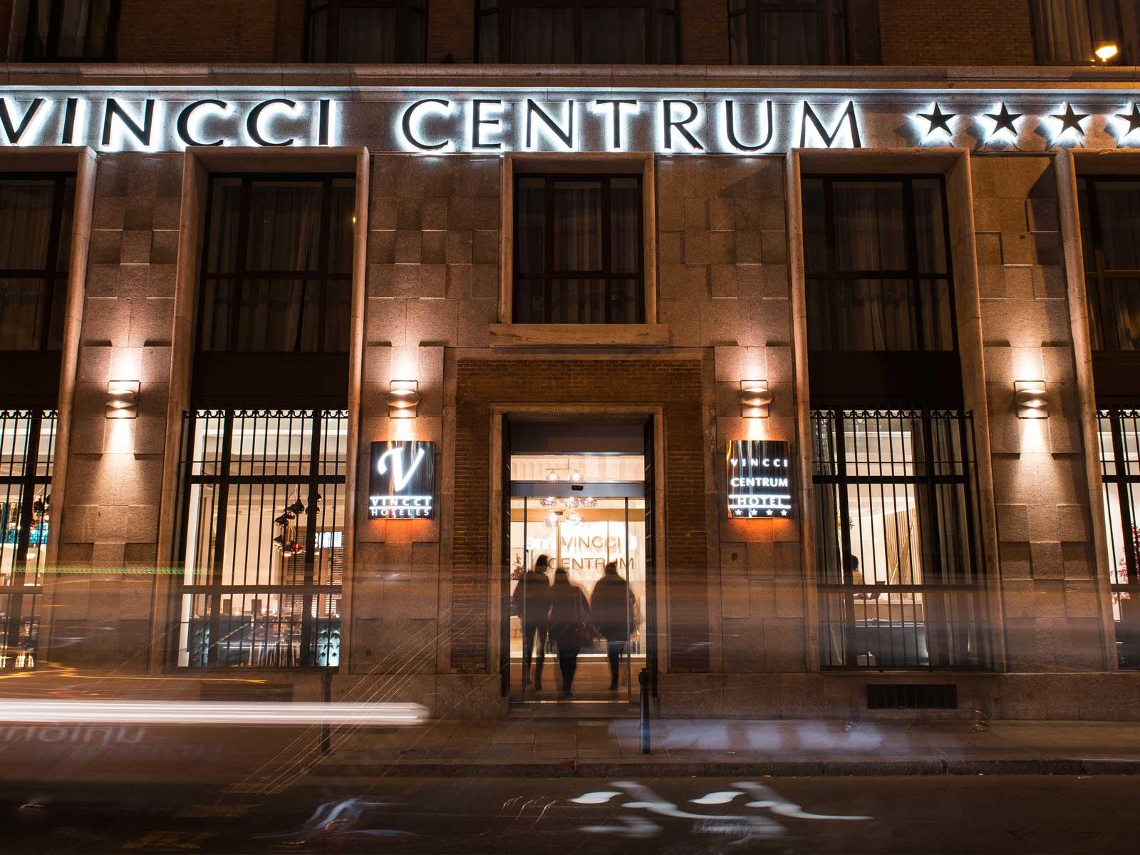 Façade - Vincci Centrum 4*