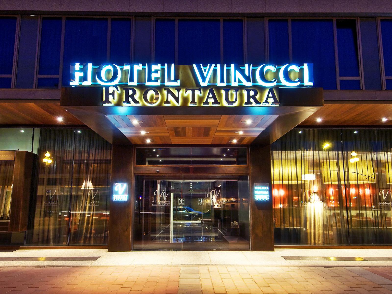 Fachada-Hotel Valladolid Frontaura - Vincci Hoteles