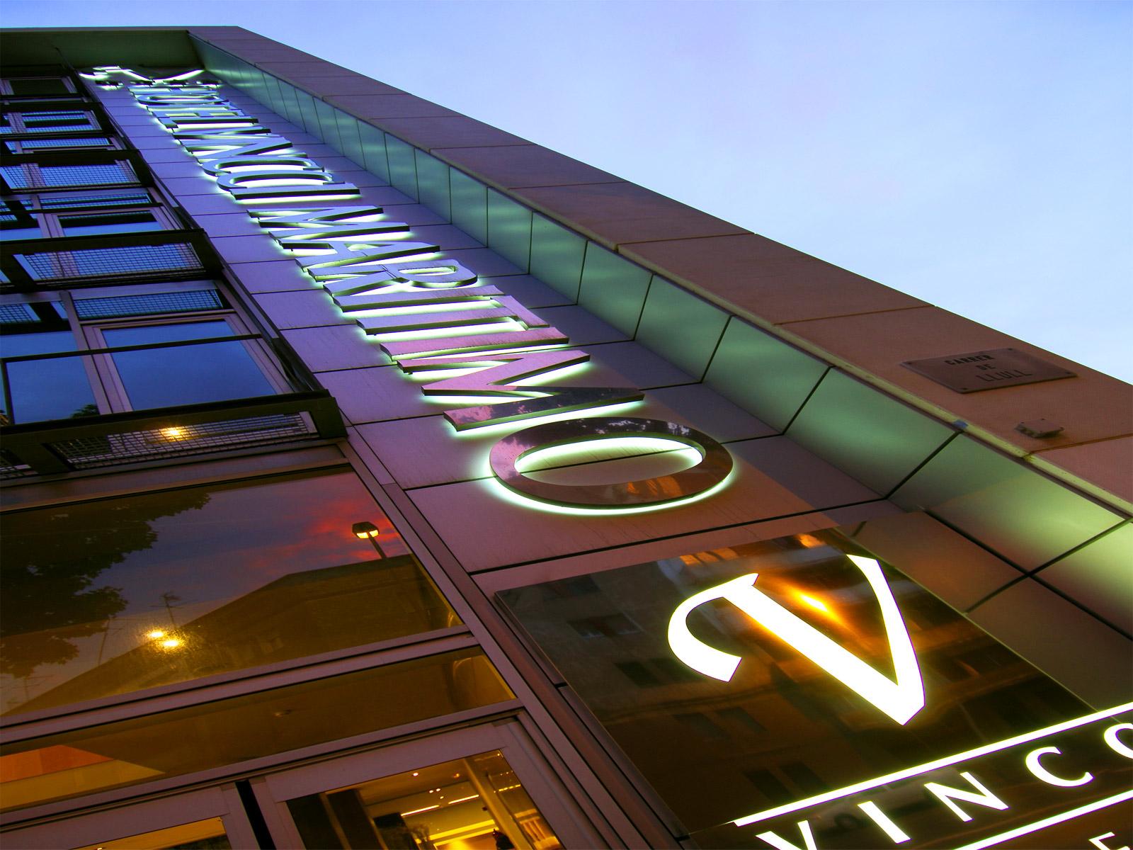Facade-Hôtel Barcelone Maritime - Vincci Hoteles