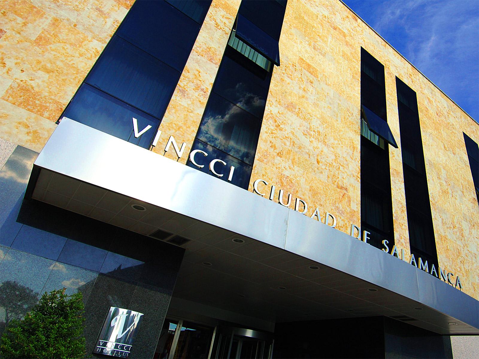 Fachada-Hoteles Vincci. Hotel Vincci Ciudad de Salamanca