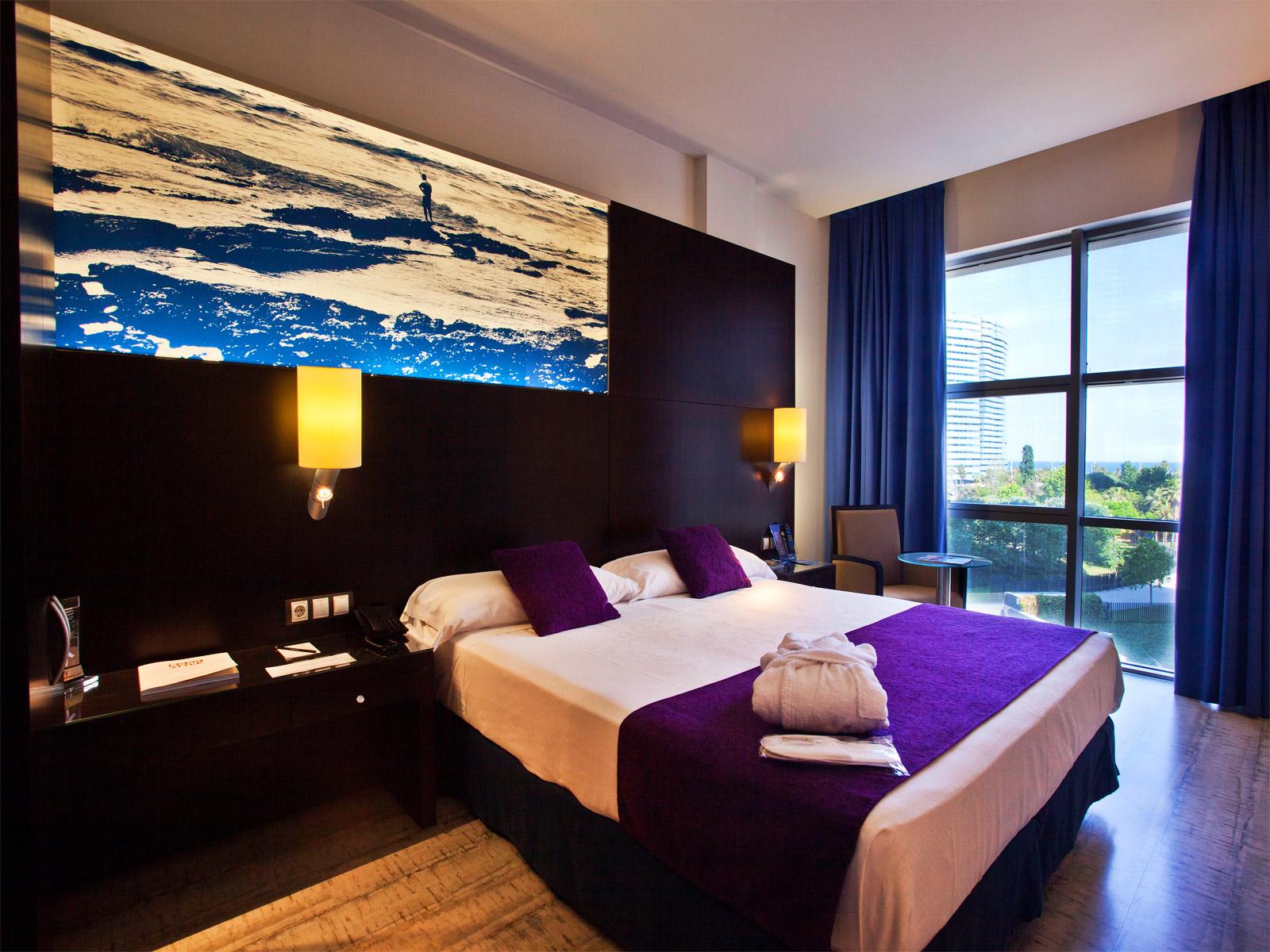 Habitaciones hotel barcelona mar timo vincci hoteles for Hoteles barcelona habitaciones cuadruples