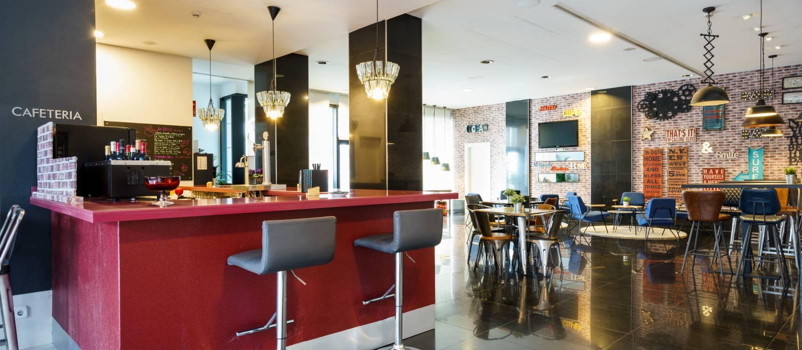 Bar Lounge - Servizi Hotel Malaga - Vincci Hoteles