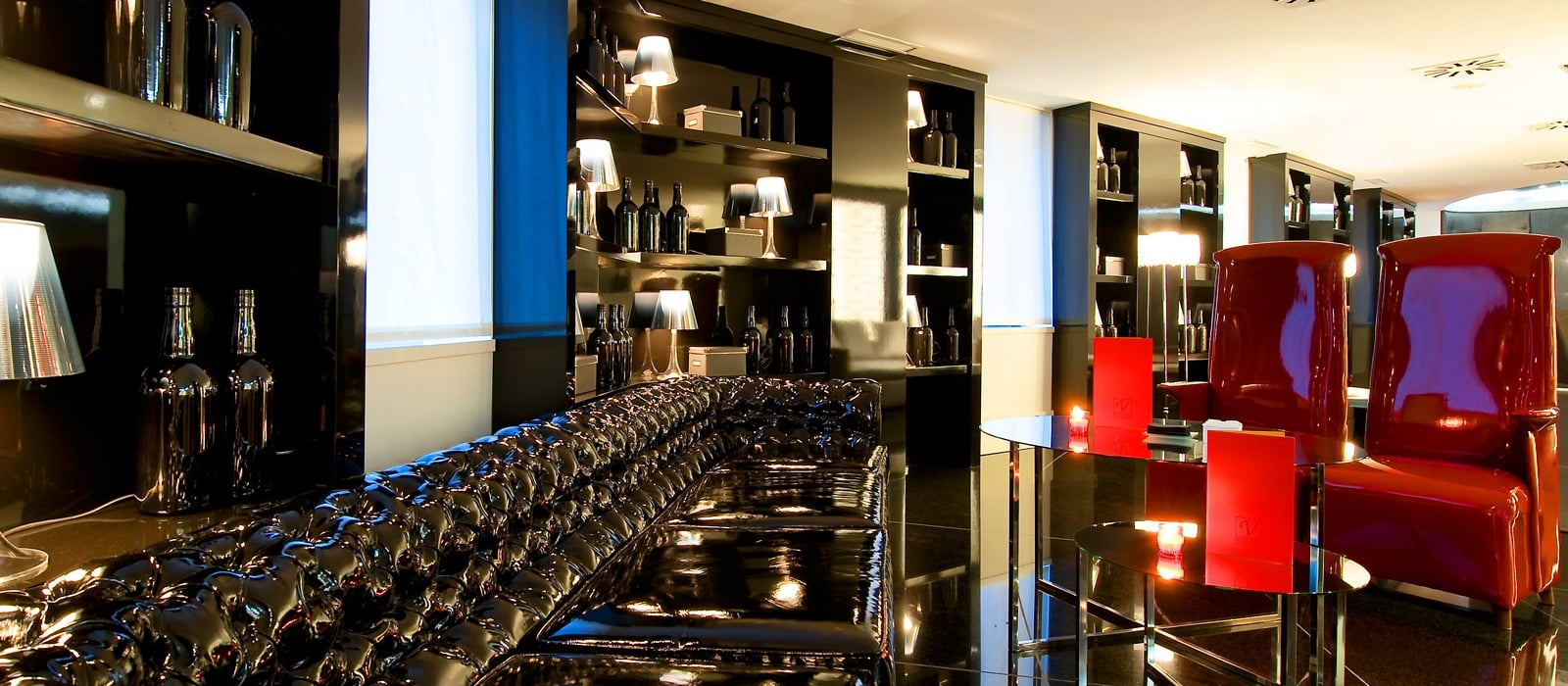 Servizi Hotel Madrid Via 66 - Vincci Hoteles - Bar Lounge