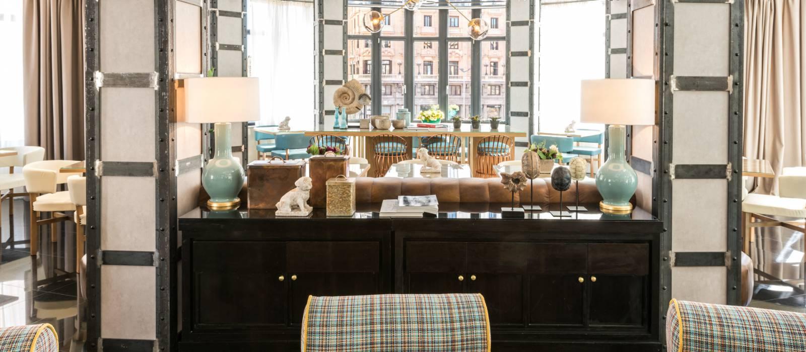 Servizi Capitol Hotel Madrid - Vincci Hoteles - Reims Bar