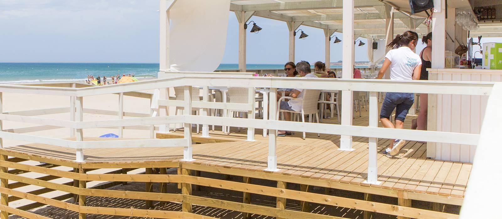 Bar sur la plage Costa Golf - Hotel Vincci Costa Golf