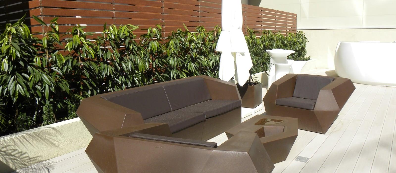 Services Hotel Barcelona Gala  - Vincci Hotels - Terrace