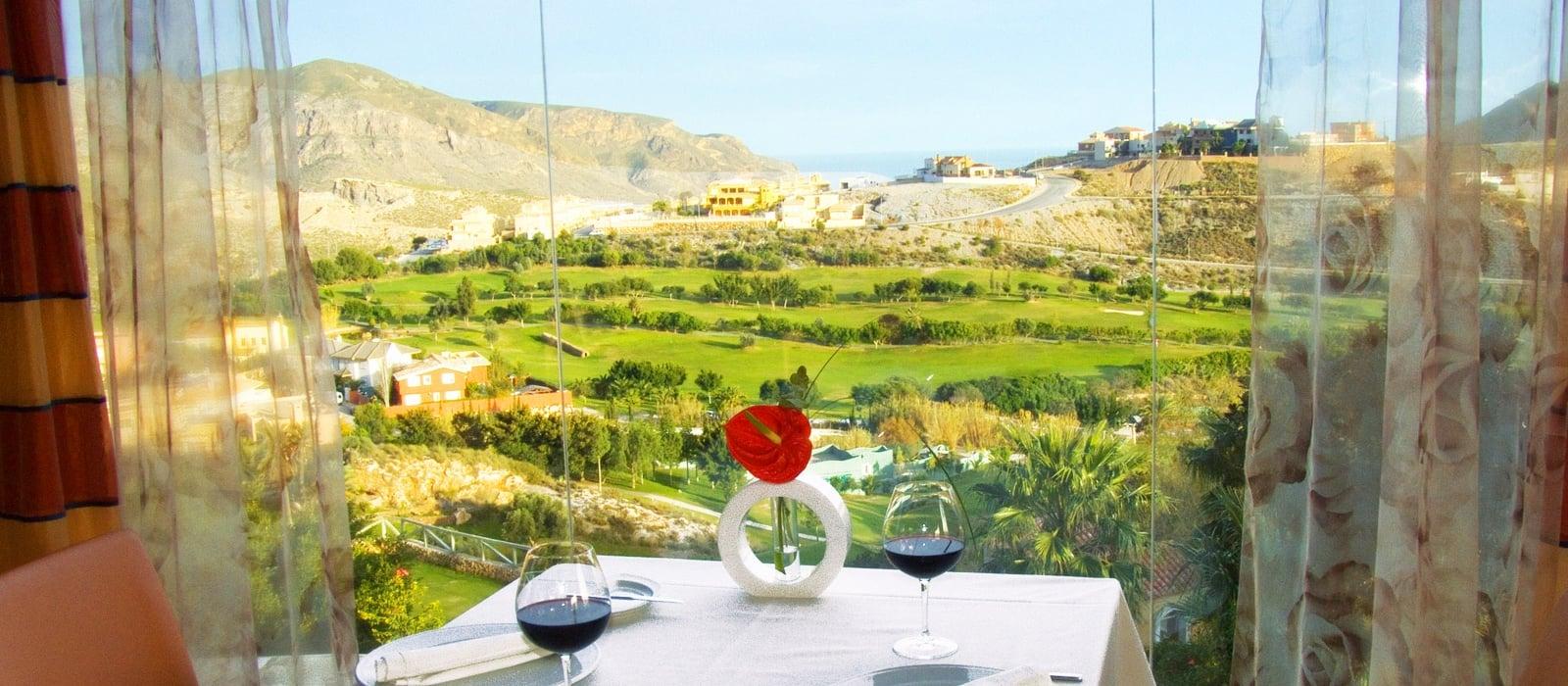 Services Hotel Vincci Almería Wellness - Restaurant El Mirador a la Carte