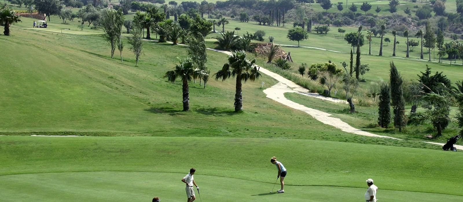 Wellness Spa Hôtel Almería - Vincci Hoteles - École de Golf