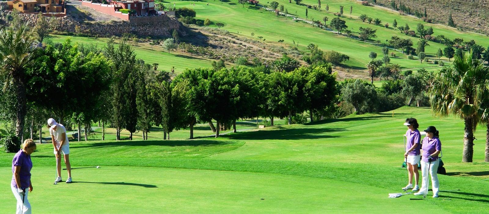 Servicios Hotel Vincci Almería Wellness - Escuela de Golf