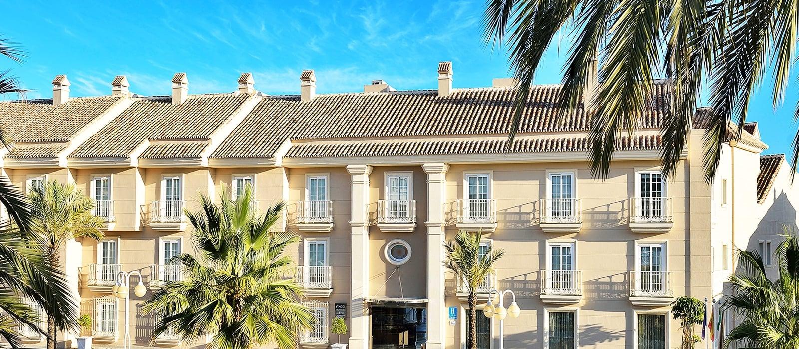 facciata-Vincci Aleysa Boutique&Spa 5* - Benalmádena - Málaga