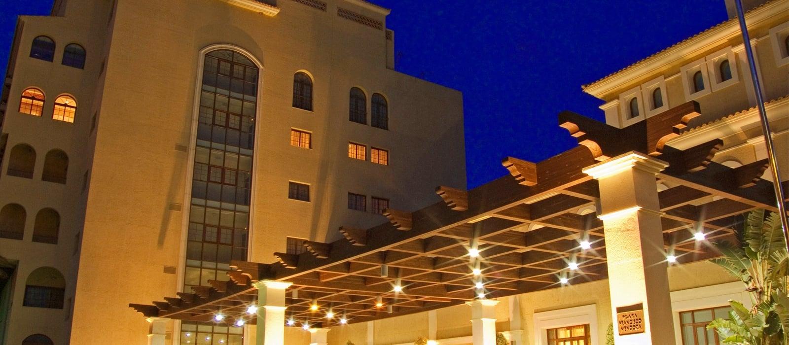 Fachada-Wellness Hotel Almería - Vincci Hoteles