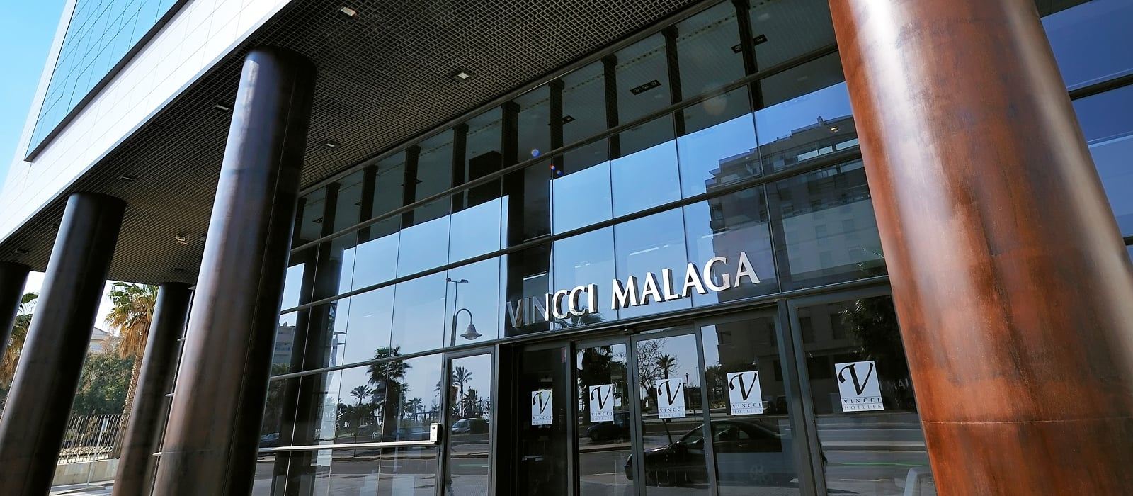 Fachada-Vincci Málaga