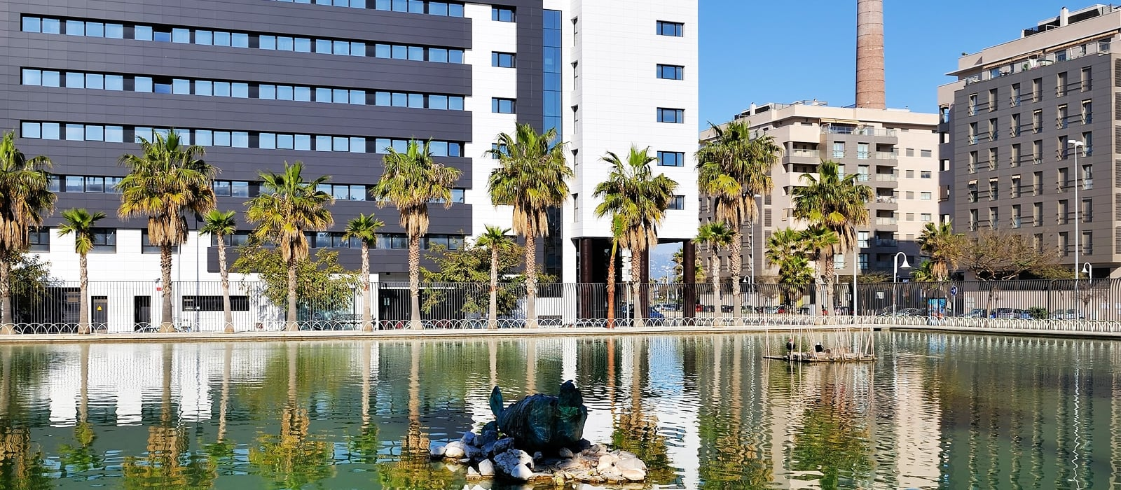 Seitenansicht - Vincci Málaga