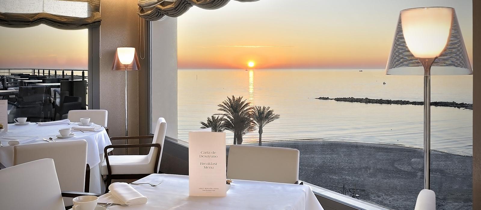 Restaurant Hôtel Aleysa Boutique & Spa - Vincci Hoteles