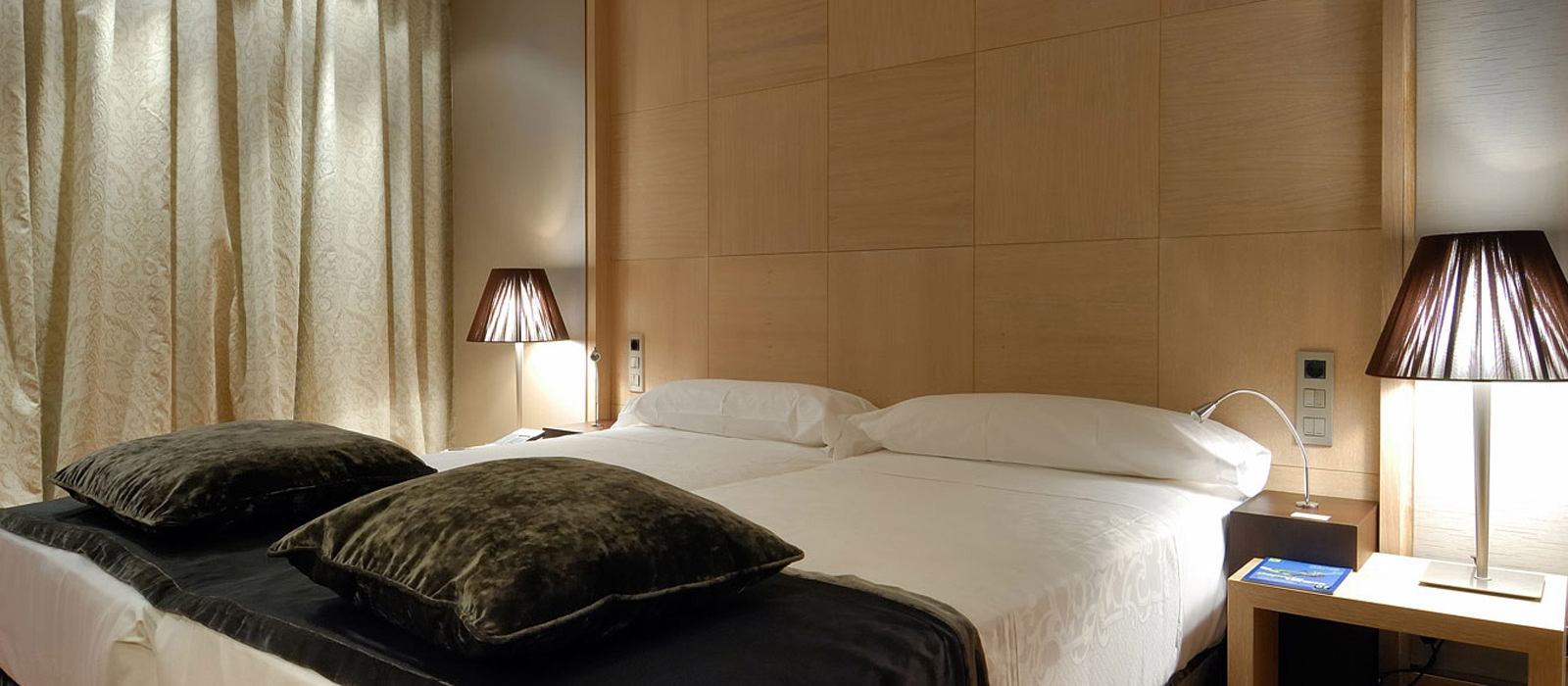 Habitación estándar. Hotel Valladolid Frontaura - Vincci Hoteles