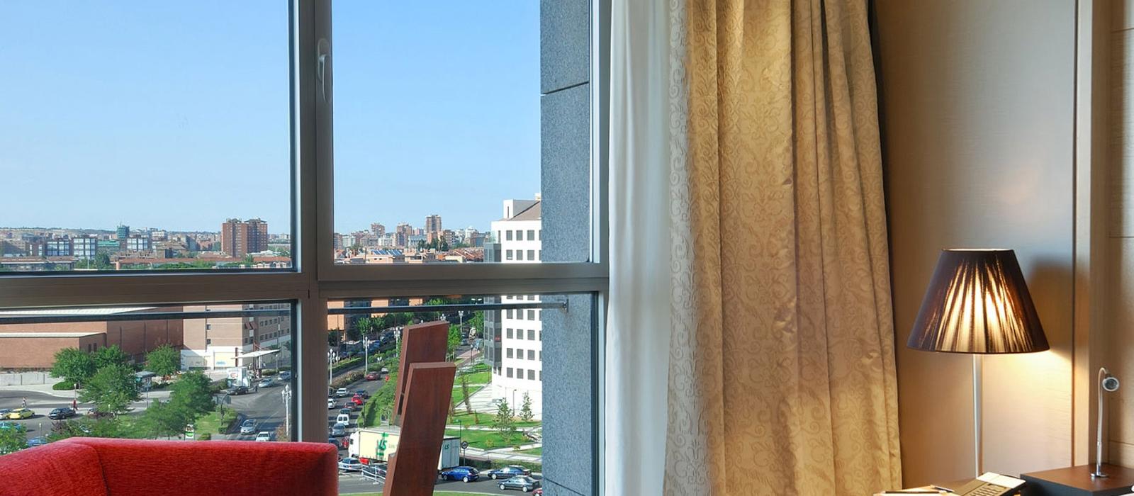 Superior Zimmer. Frontaura Hotel Valladolid - Vincci Hoteles