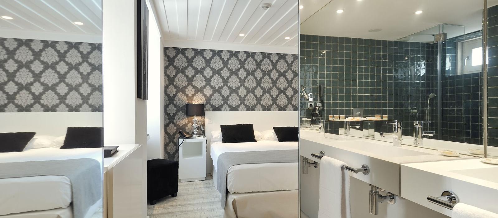 Quartos Hotel Lisboa Baixa - Vincci Hoteles - Quarto Estandar