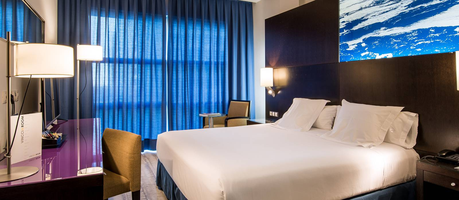 Habitaciones Hotel Barcelona Marítimo - Vincci Hoteles - Habitación Doble
