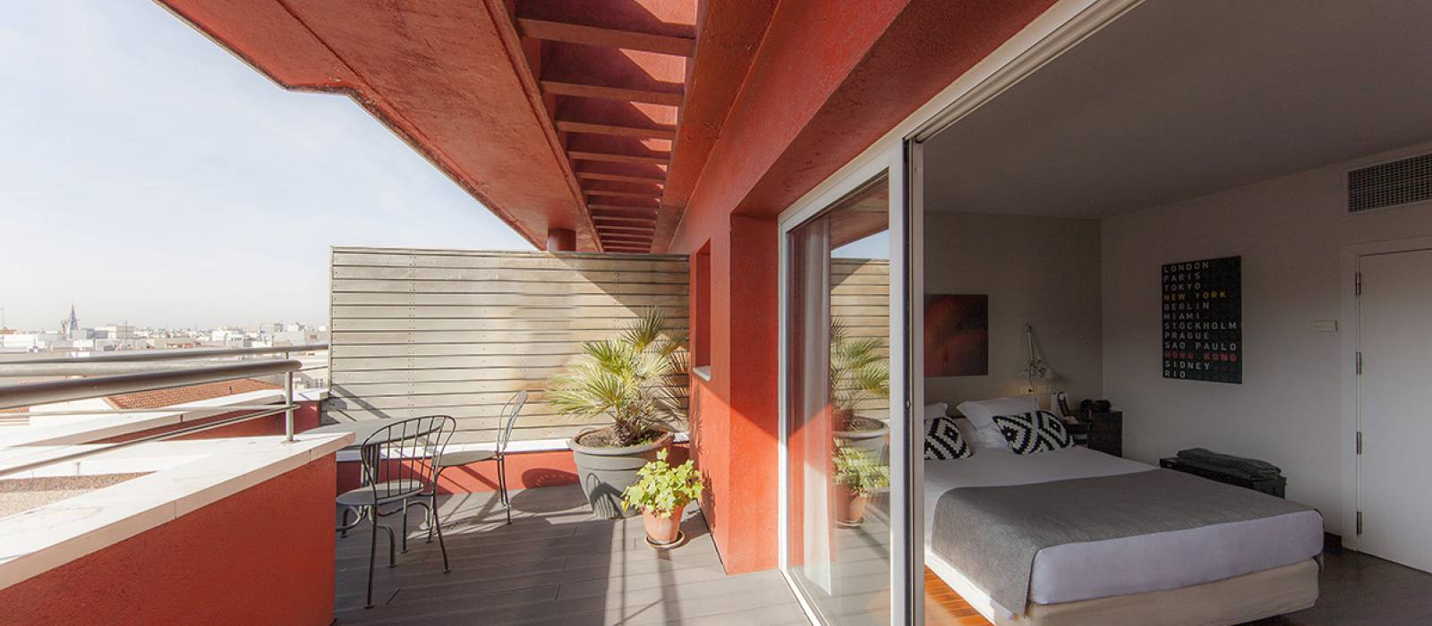 Soma Zimmer Hotel Vincci Madrid - Vincci Superior Zimmer