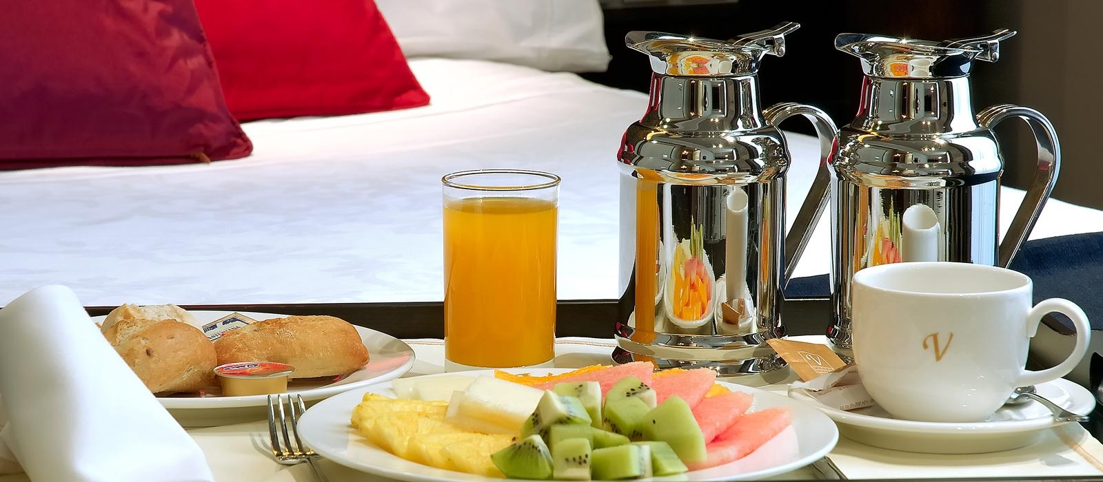Übernachtung im Hotel Vincci Soho in Madrid - Barrierefreie Zimmer