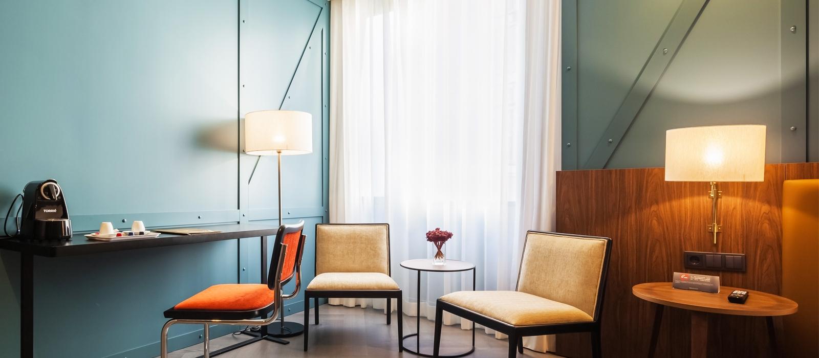 Doppelzimmer.  Hotel Porto - Vincci Hoteles